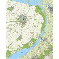 Topografische kaart schaal 1:25.000 (Dronten, Swifterbant, Kampen, Elburg, Biddinghuizen)