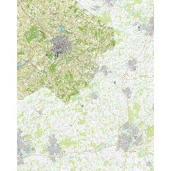 Topografische kaart schaal 1:25.000 (Winterswijk, Meddo, Bredevoort)