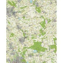 Topografische kaart schaal 1:25.000 (Uden, Boekel, Gemert, Beek en Donk, Helmond, Mill)