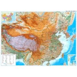 Landkaart China  Gizi 1:4.750.000