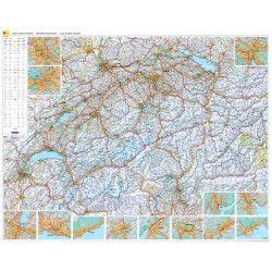 Landkaart Zwitserland Kummerly & Frey 1:301.000
