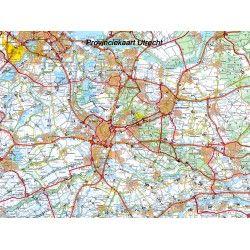 Provincie kaart Utrecht 1:100.000