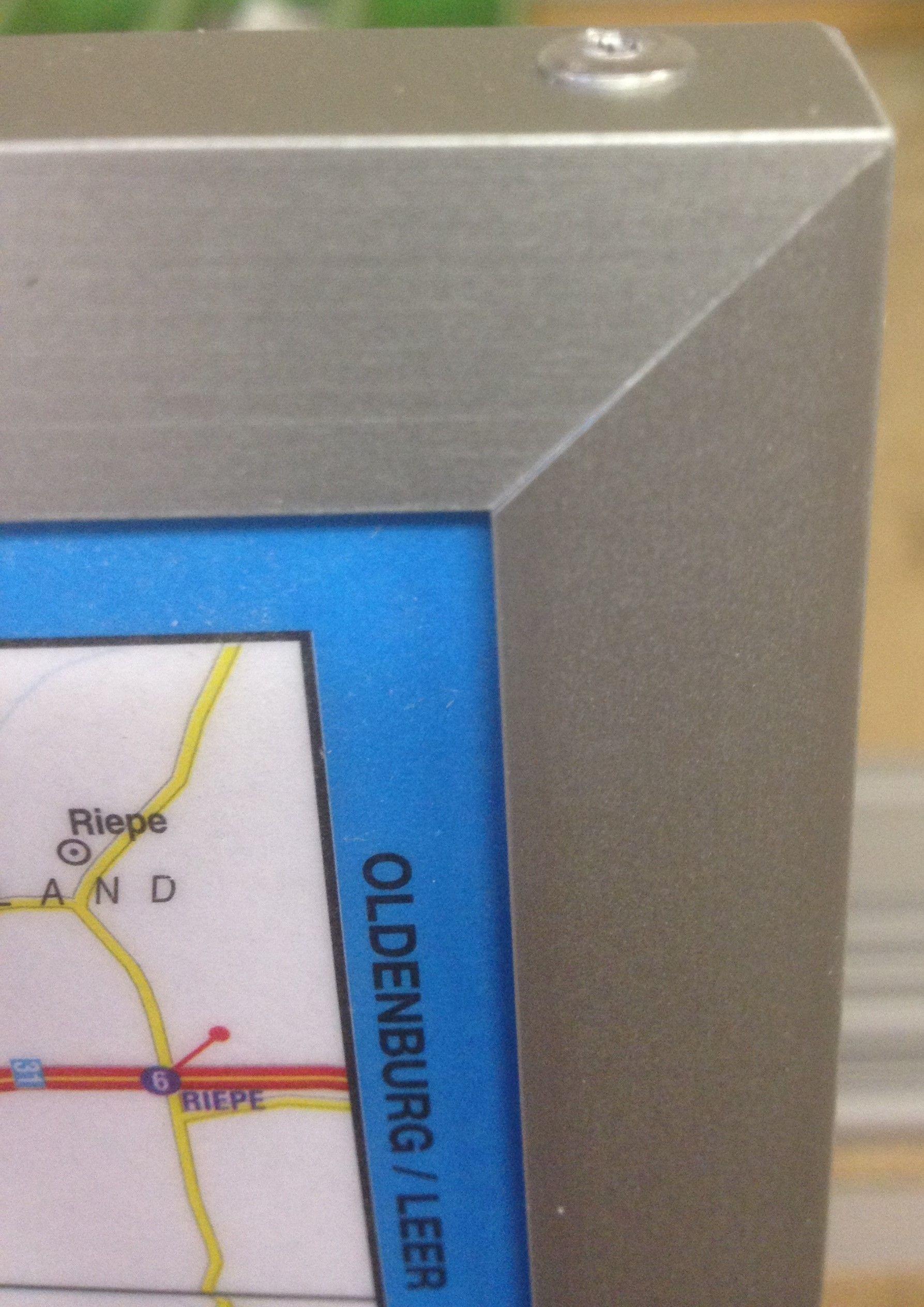 Landkaart Belgie de Rouck Geocart 1:250.000 met Plaatsnamenindex