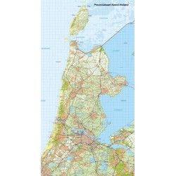 Digitale Provinciekaart Noord Holland 1:100.000