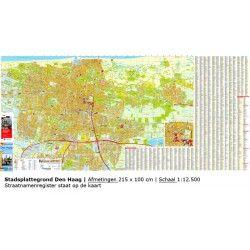 Stadsplattegrond Den Haag 1:12.500