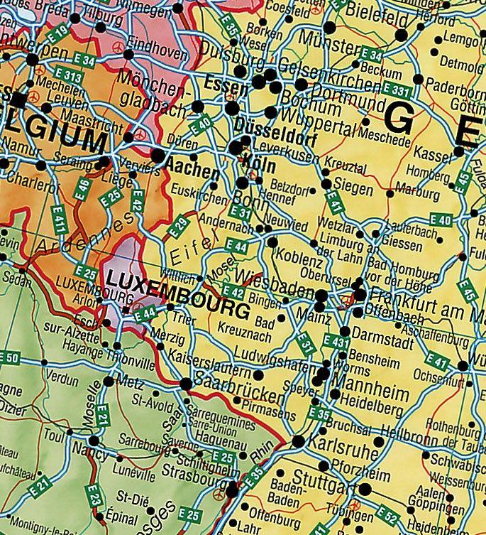 Europakaart B
