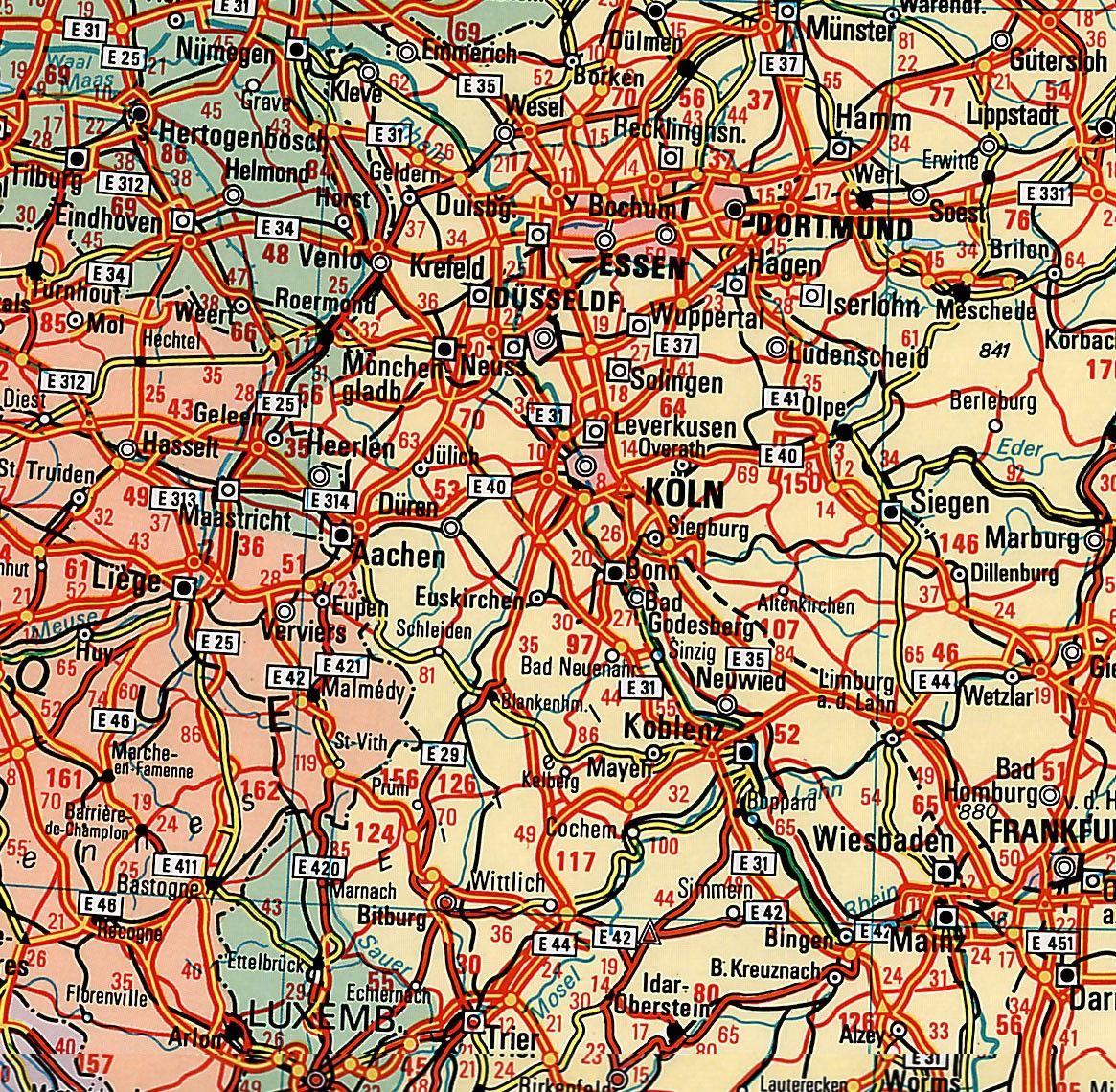 Europakaart D