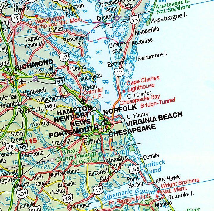 Landkaart Verenigde Staten (Hallwag)