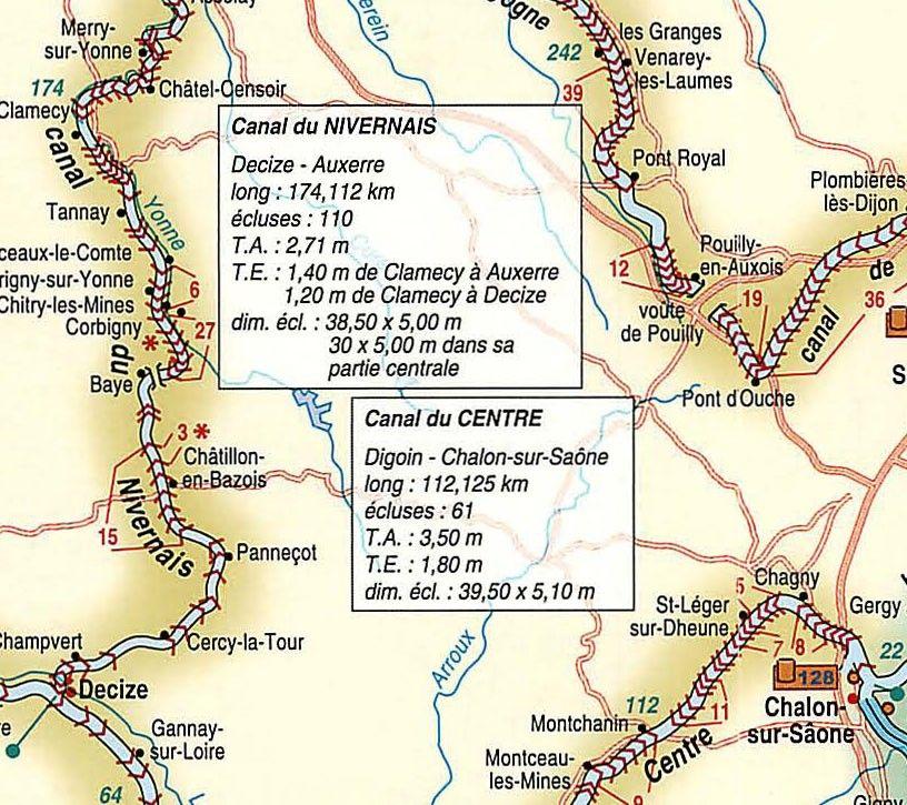 Waterwegen Frankrijk