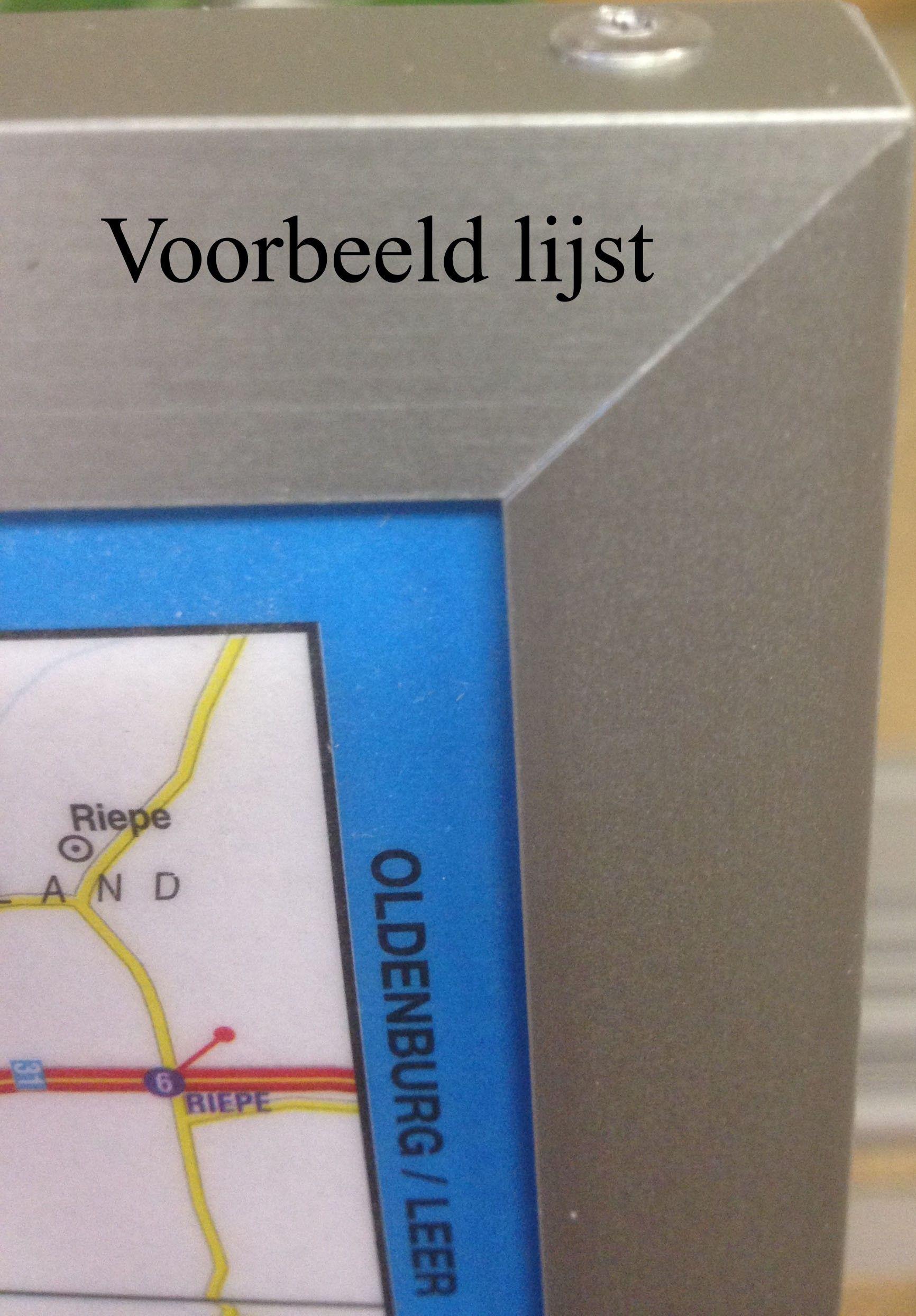 Postcodekaart Friesland