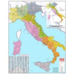 Postcodekaart Italië 1:1.000.000