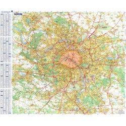 Stadsplattegrond Parijs
