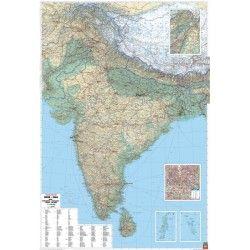 Landkaart India 1:2.750.000
