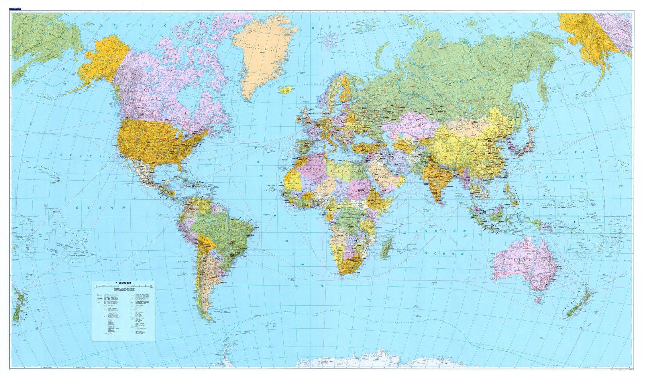 Wereldkaart A