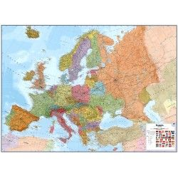 Europakaart A Maps International 1:4.300.000