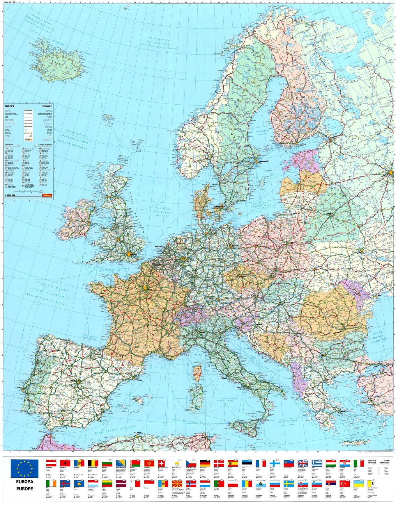 Europakaart E