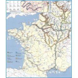 Waterwegen Frankrijk 1:1.694.000