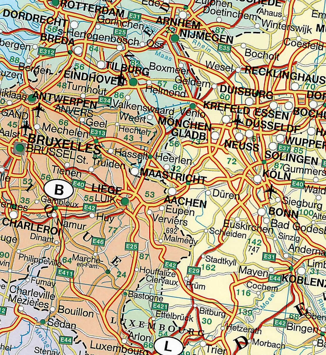 Europakaart C Klein