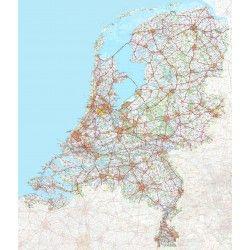 Digitale kaart Nederland