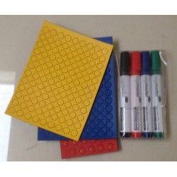 Startersset klein (3 set ronde magneten en 1 set stiften)