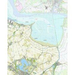 Topografische kaart schaal 1:25.000 (Termunten, Woldendorp, Winschoten, Beerta, Nieuweschans)