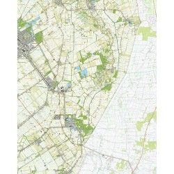 Topografische kaart schaal 1:25.000 (Stadskanaal, Vlagtwedde, Bourtange, Musselkanaal, Ter Apel)